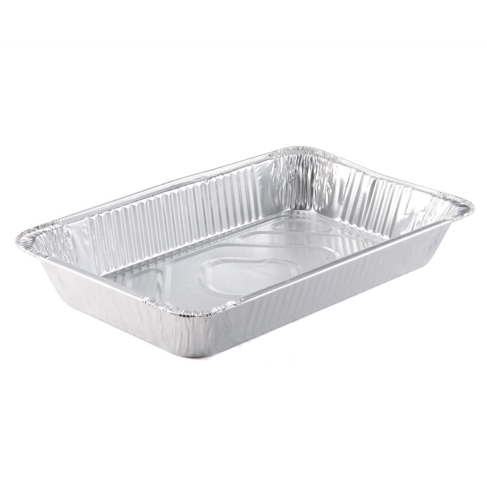 Choice Full Size Foil Steam Table Pan 3 3/8 inch Deep 50/Case