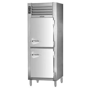 Traulsen RDH132WUT-FHS Stainless Steel 20.6 Cu. Ft. Single Section Reach In Holding Cabinet / Refrigerator - Specification Line