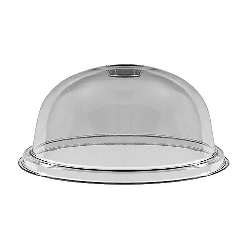 GET HI-2013-CL Clear Mediterranean Round Dome Cover for HI-2010 - 6 / Case