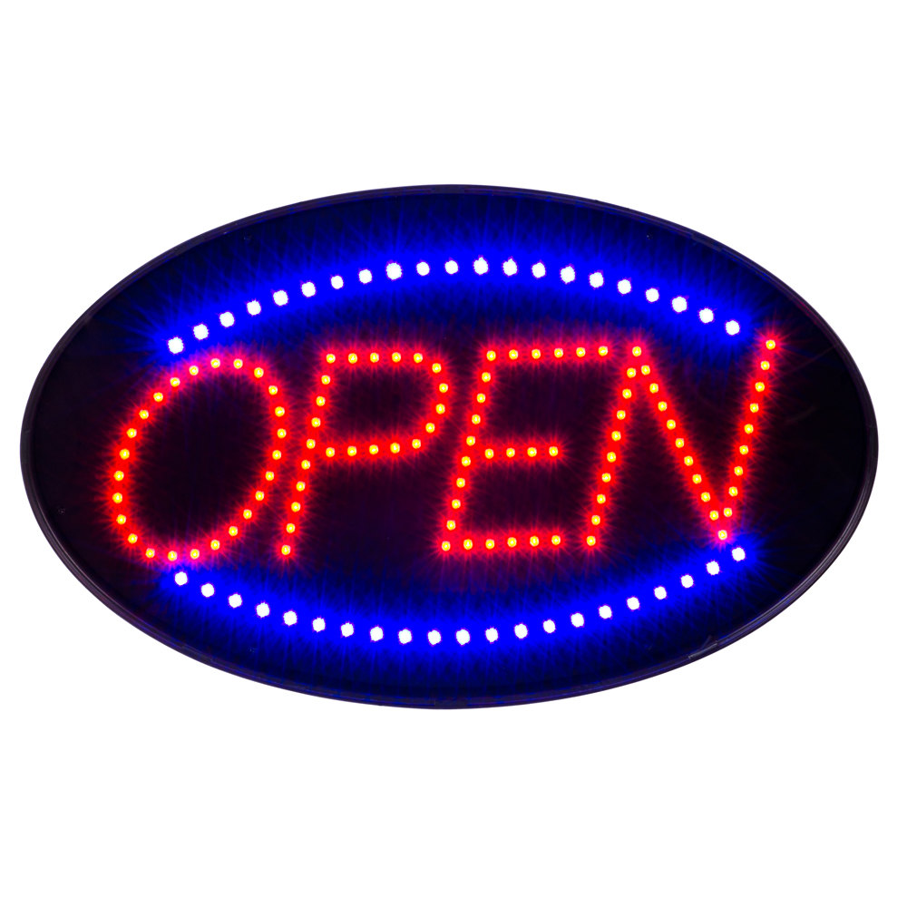 open sign led open sign