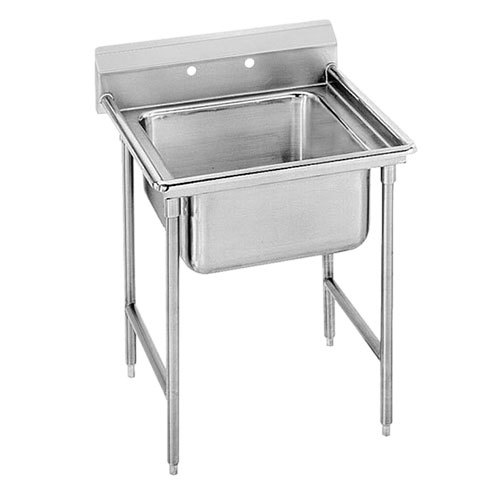 ... Tabco T9-1-24 One Compartment Stainless Steel Commercial Sink - 25