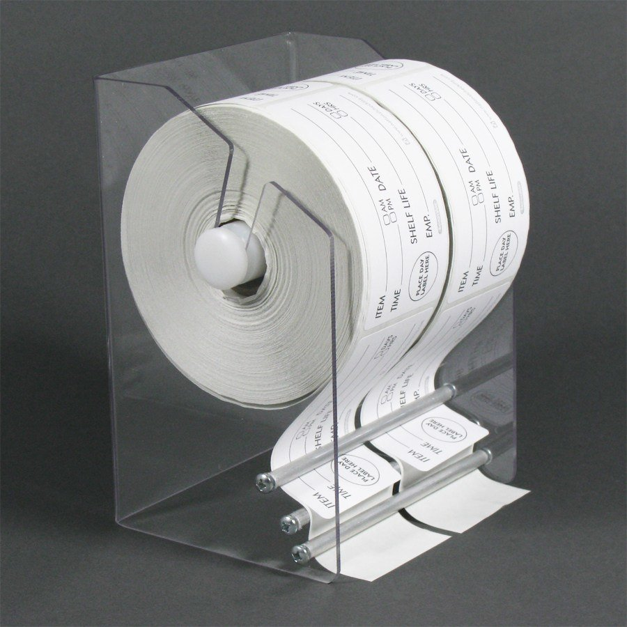 Plexiglas Label Dispenser
