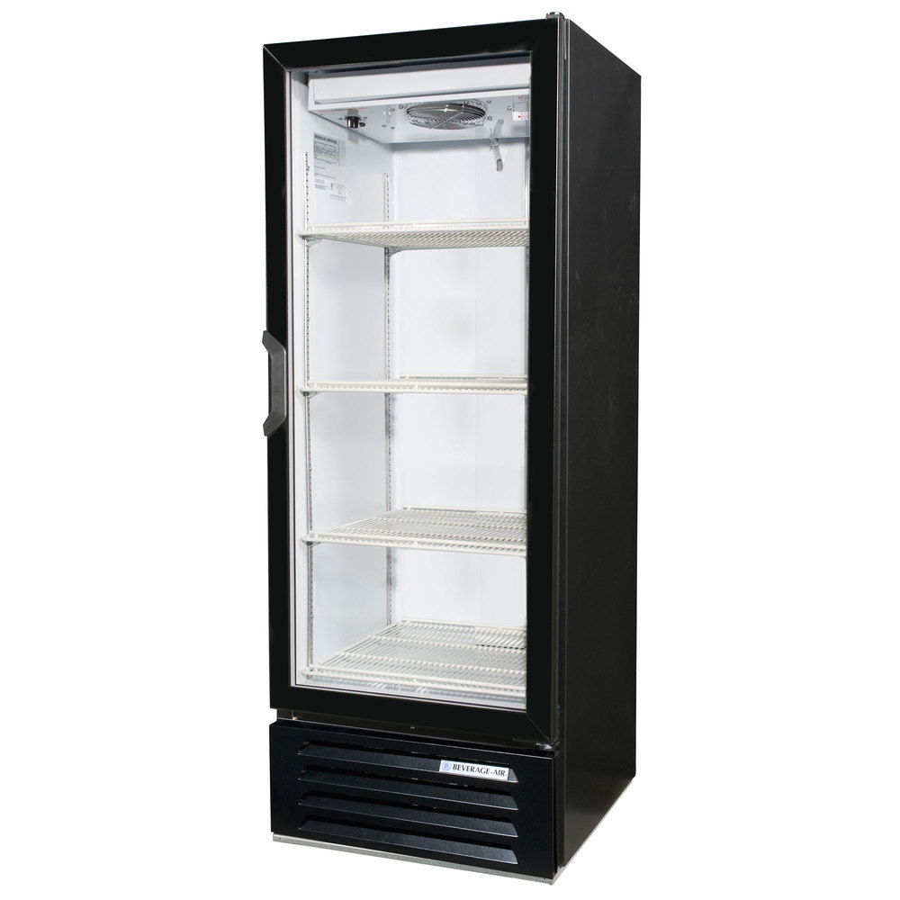 Beverage Air Lv12 1 B Black Lumavue 24 Quot Refrigerated Glass