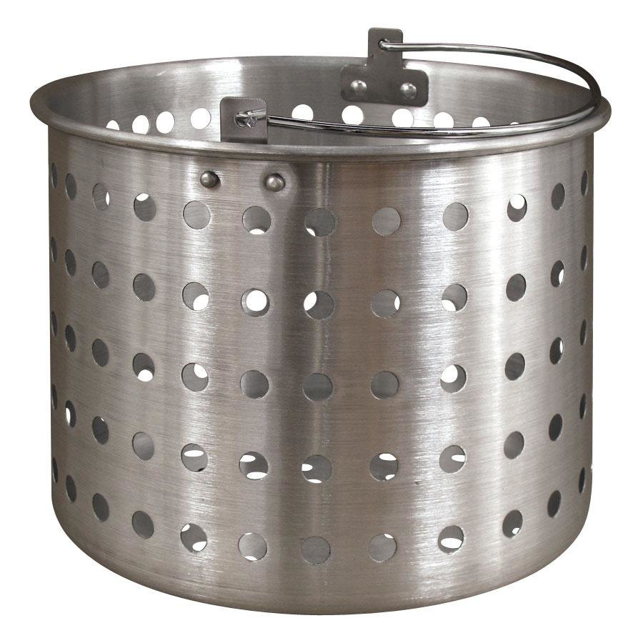 "Vollrath 68290 Wear-Ever Replacement Boiler / Fryer Basket for 68269 - 11 1/4"" x 10 7/8"""