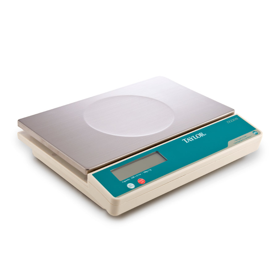 Taylor TE22OS 22 lb. Digital Portion Control Scale