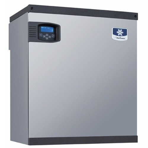 Manitowoc Indigo Series IB-0894YC 825 Pound QuietQube Half Size Cube Ice Machine for Beverage Dispensers 22 inch Wide - Remote Cooled
