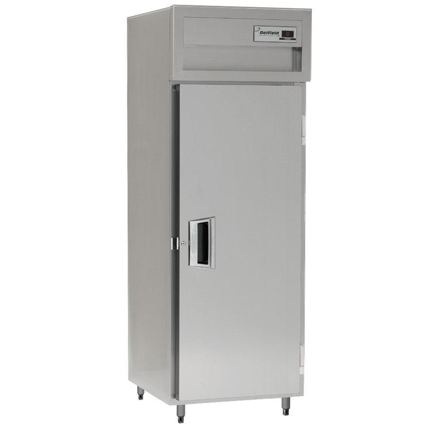 Delfield SMR1N-S 21 Cu. Ft. One Section Solid Door Narrow Reach In Refrigerator - Specification Line