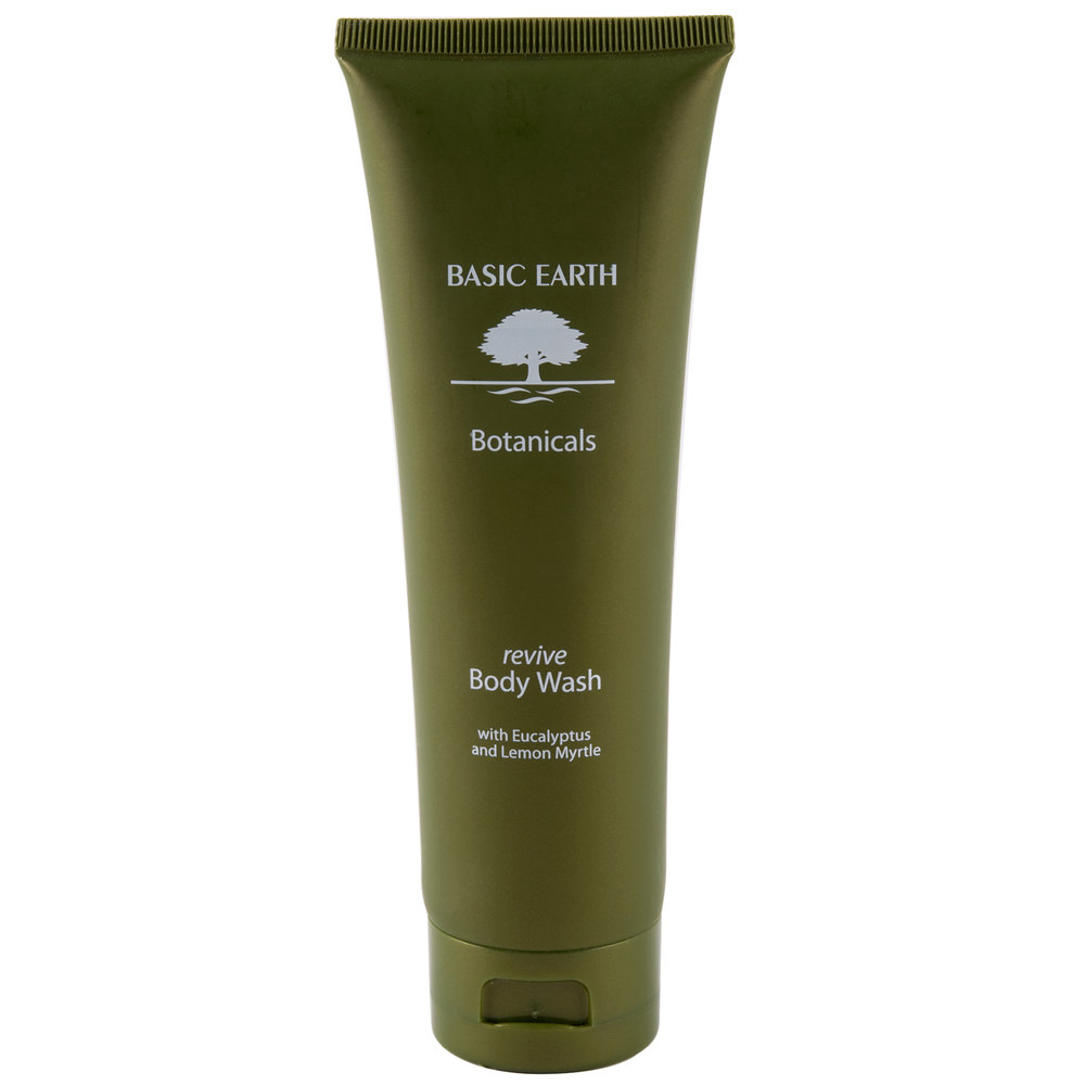 Basic Earth Botanicals Reviving Body Wash With Flip Top
