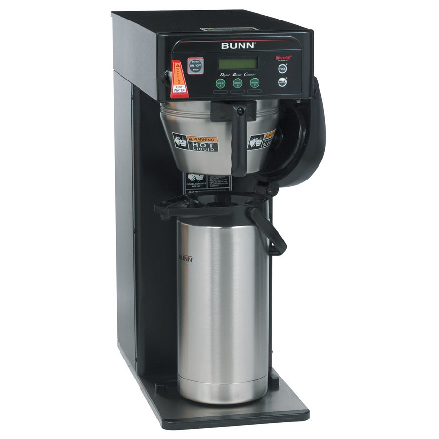 Bunn ICB-DV Infusion Coffee Brewer - Black Dual Voltage (Bunn 36600.0004)