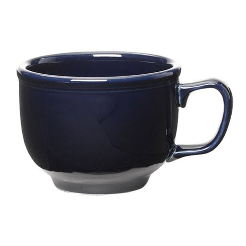 Homer Laughlin 149105 Fiesta Cobalt Blue 18 oz. Jumbo Cup - 12 / Case