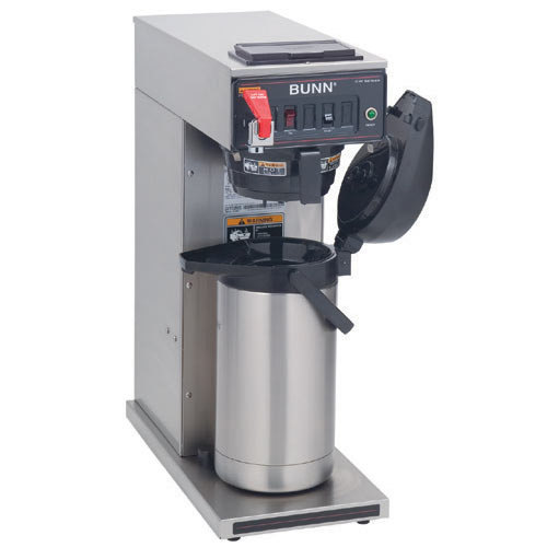 Bunn CWTF35 APS Airpot Brewer with Black Plastic Funnel and Hot Water Faucet 208-240V (Bunn 23001.0008)