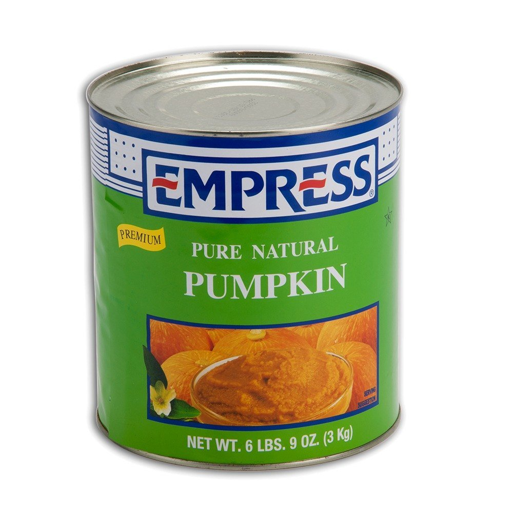 100% Pure Canned Pumpkin 6 - #10 Cans / Case