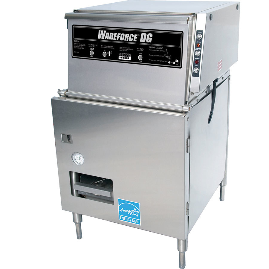 Wareforce DG Low Temperature Single Rack Glass Washer
