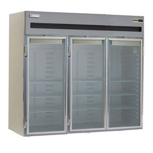 Delfield Stainless Steel SSHRI3-G 113.28 Cu. Ft. Three Section Glass Door Roll In Heated Holding Cabinet - Specification Line at Sears.com