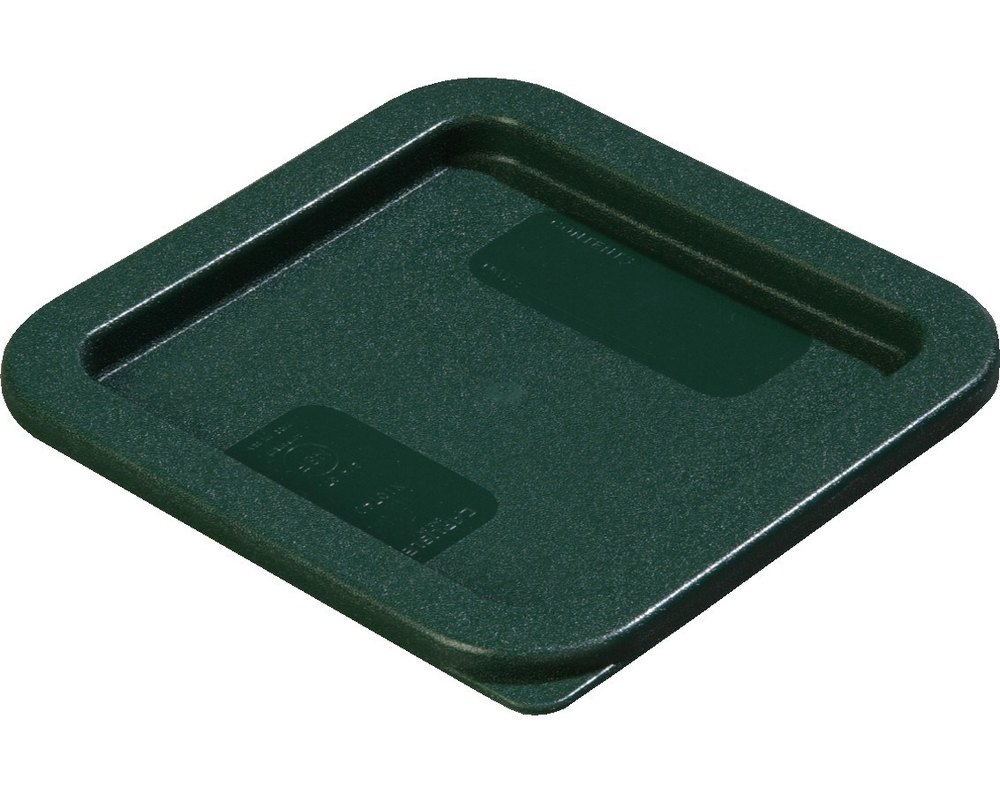 Carlisle 10740 Lid for 2, 4 Qt. Square StorPlus Containers (Green)