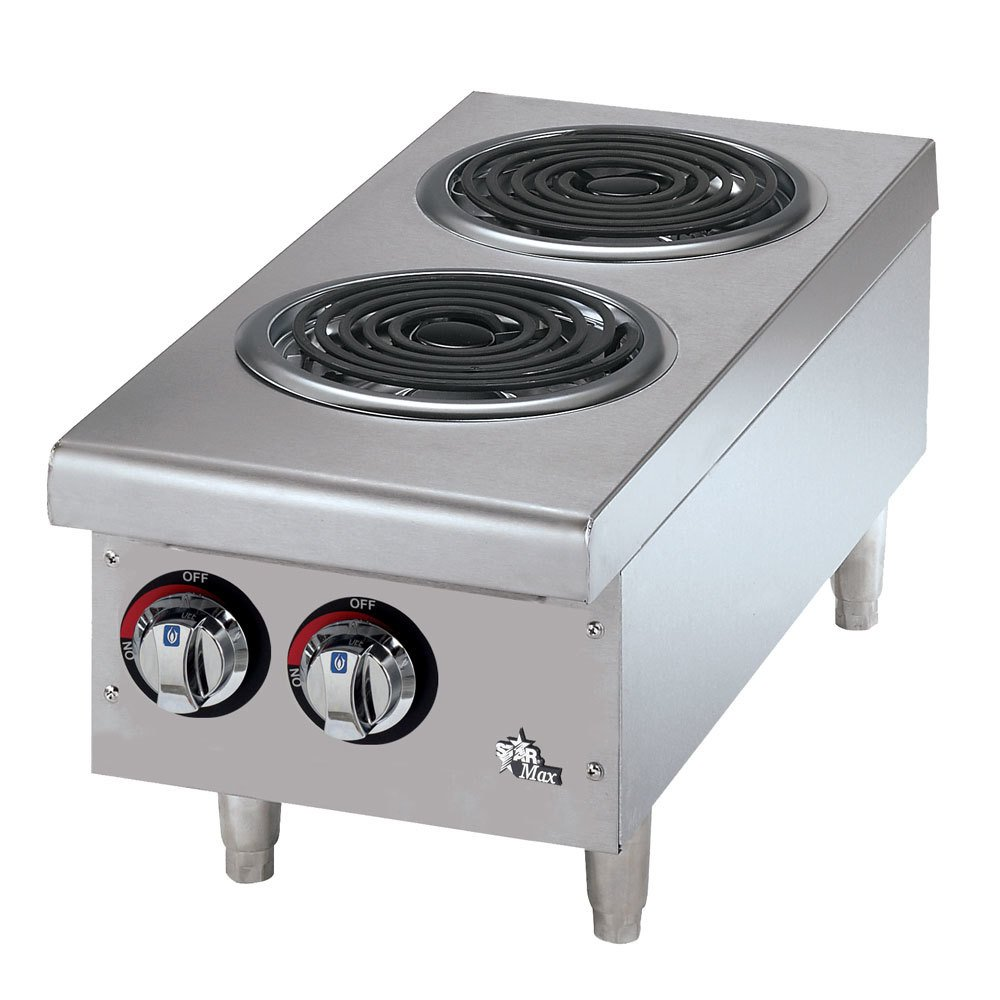Star Max 502CF 2 Burner Countertop Range with Coil Burners