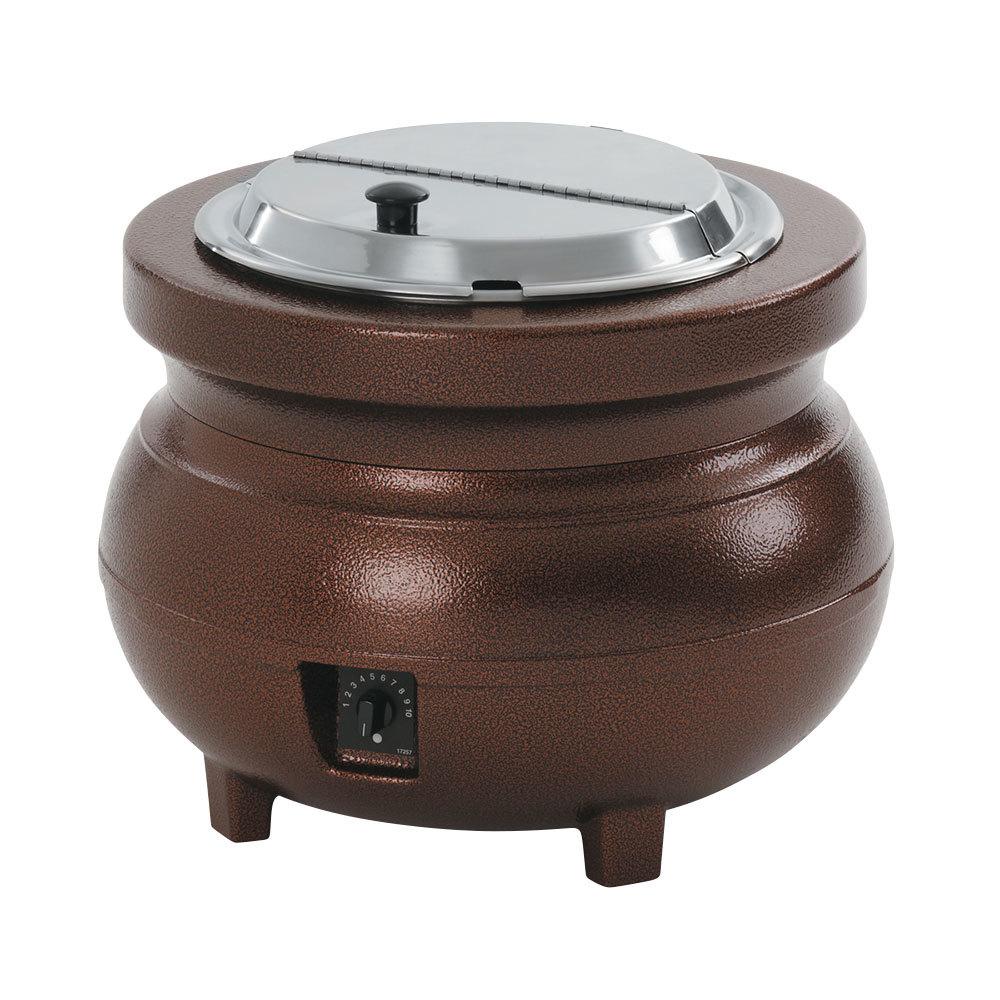Vollrath Soup Warmers ~ Vollrath colonial qt antique copper kettle soup
