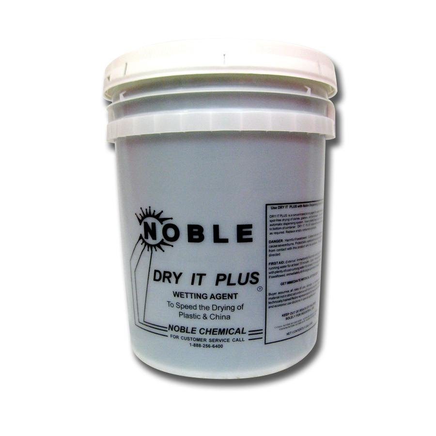 "Noble Chemical 5 Gallons Noble Chemical ""Dry It Plus"" Rinse Aid for High Temperature Dish Machines - Ecolab 11817 Alternative at Sears.com"