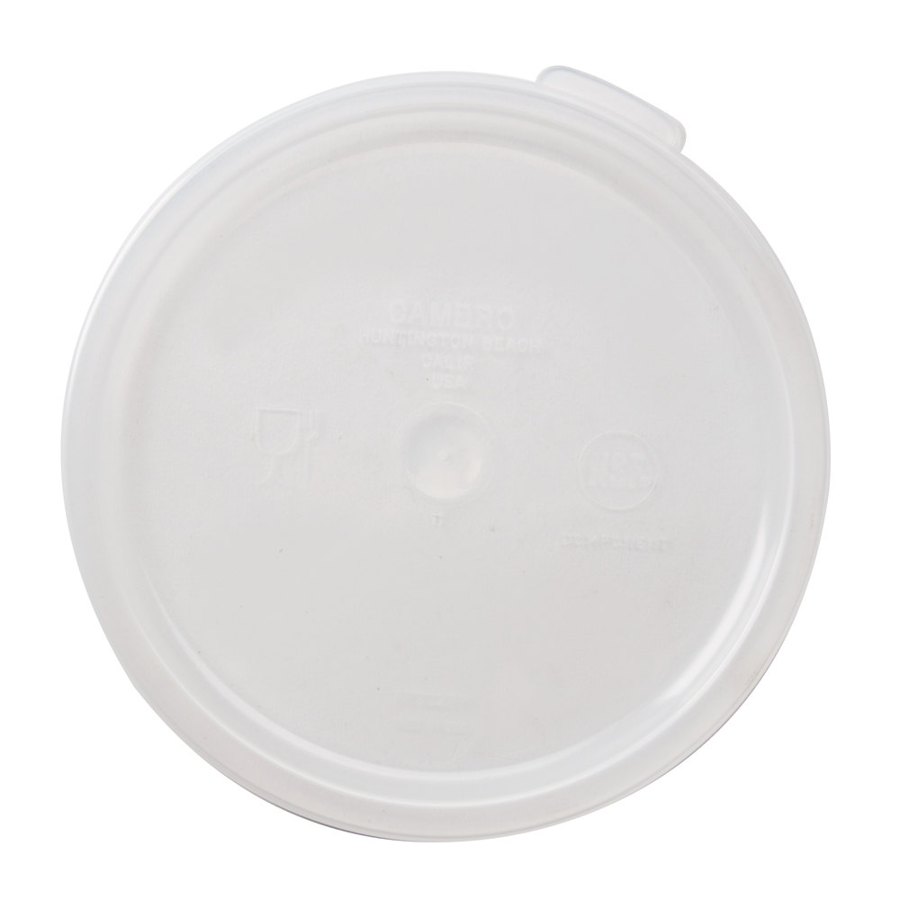 Cambro RFSC2PP-190 Lid for Cambro Translucent 2 and 4 Qt. Round Containers