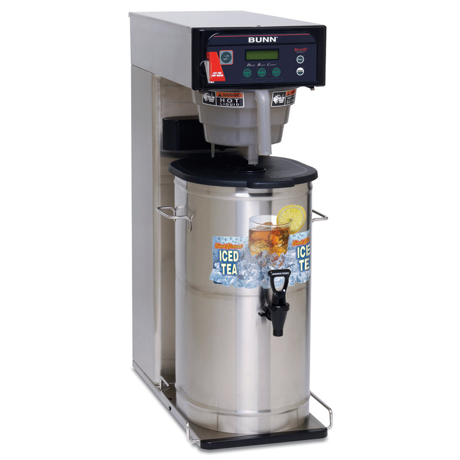 Bunn Infusion ITCB-DV Iced Tea Brewer with 25 3/4 inch Trunk and Sweetener Function - Dual Voltage (Bunn 35700.0033)