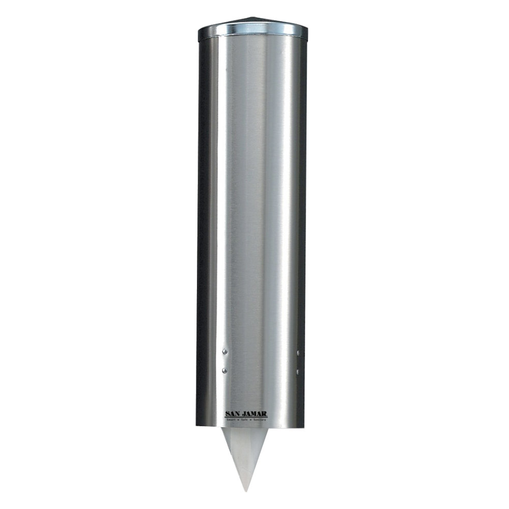 San Jamar C3250ss Gravity Pull Type Paper Cone Cup