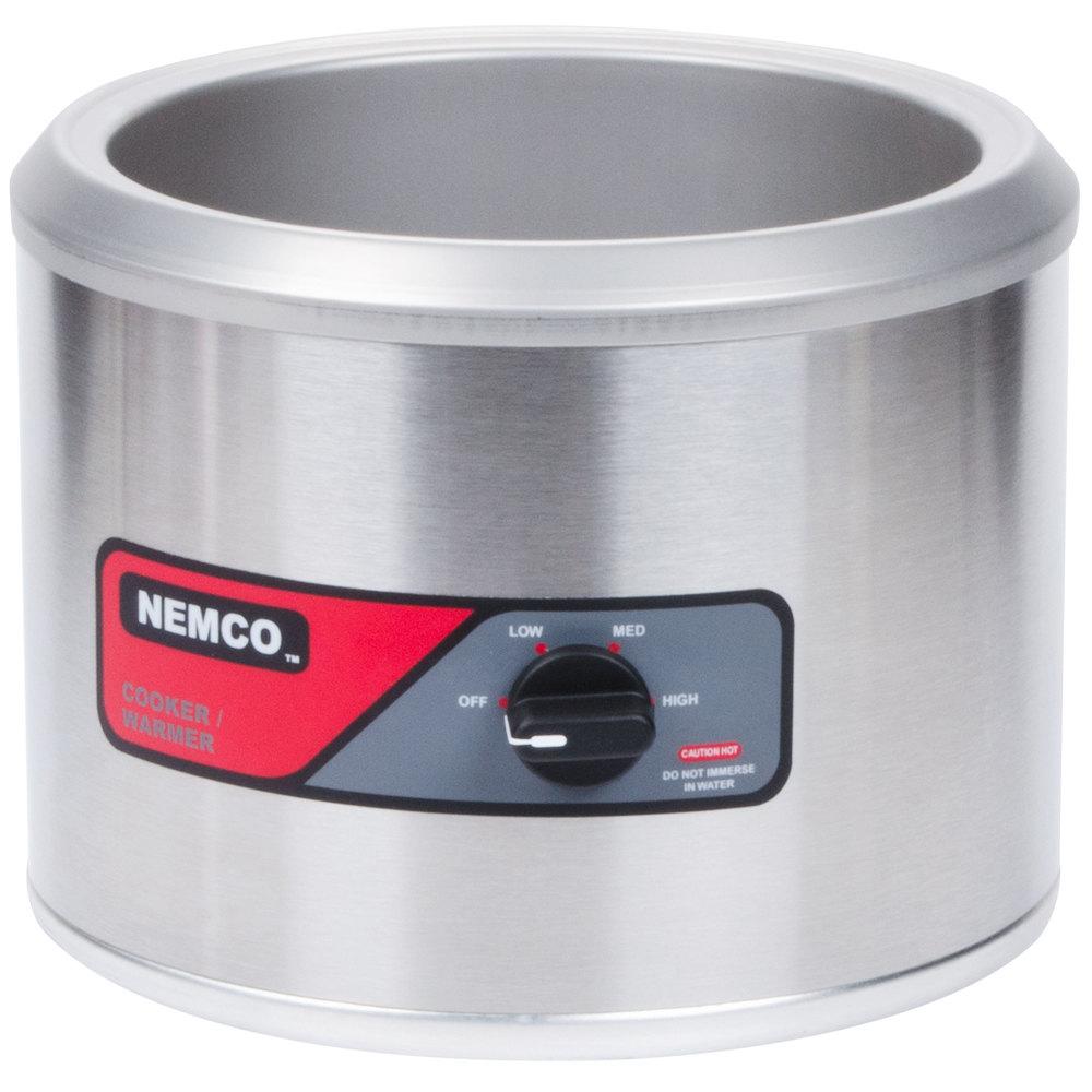 nemco 6103a 11 qt countertop cooker warmer 120v - Soup Warmer