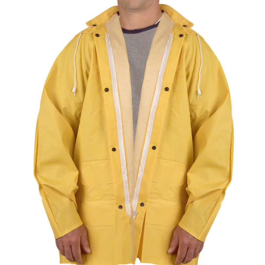 Yellow 2 Piece Rain Jacket - Small