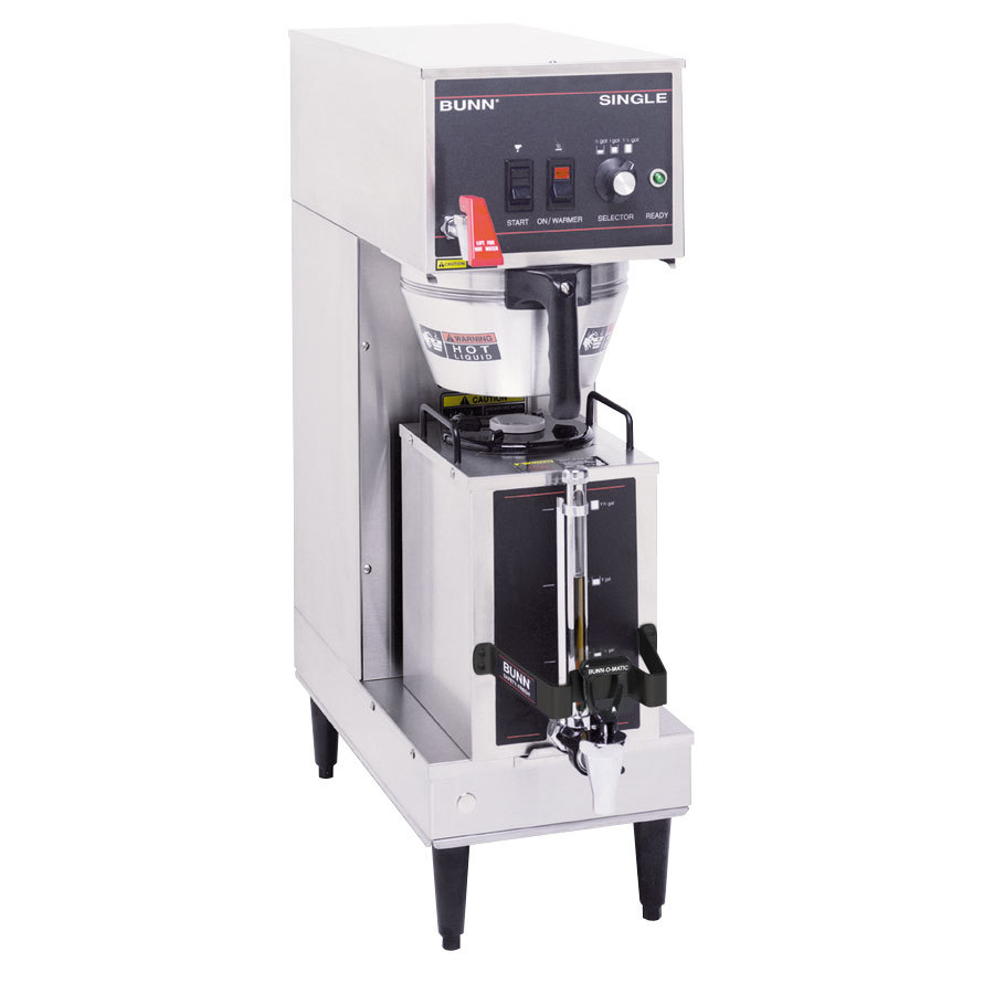 Bunn Single Brewer with Portable Server and 3 Settings 120V (Bunn 23050.0007)