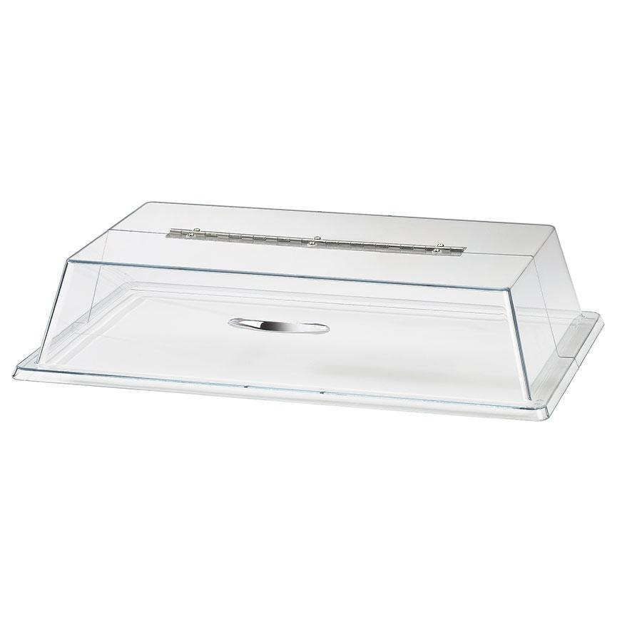 Cal Mil 329-13 13 inch x 18 inch Standard Rectangular Bakery Tray Cover with Long Hinge
