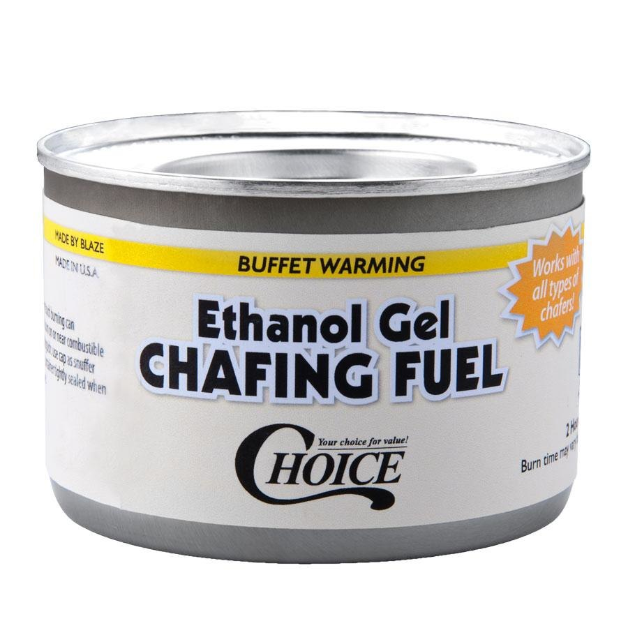 Choice Gel Chafing Fuel - 2 Hour - 72 / Case