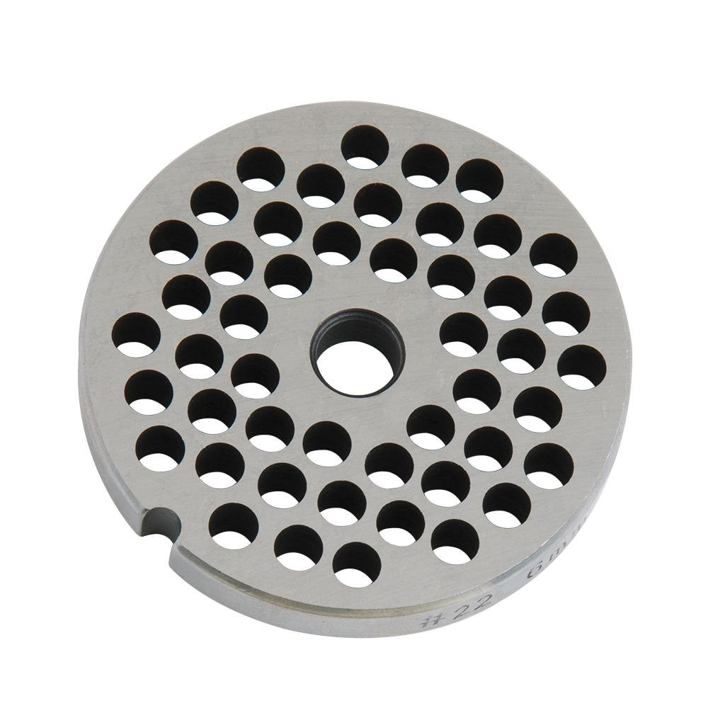 "1/4"" Hole Meat Grinder Plate #22"