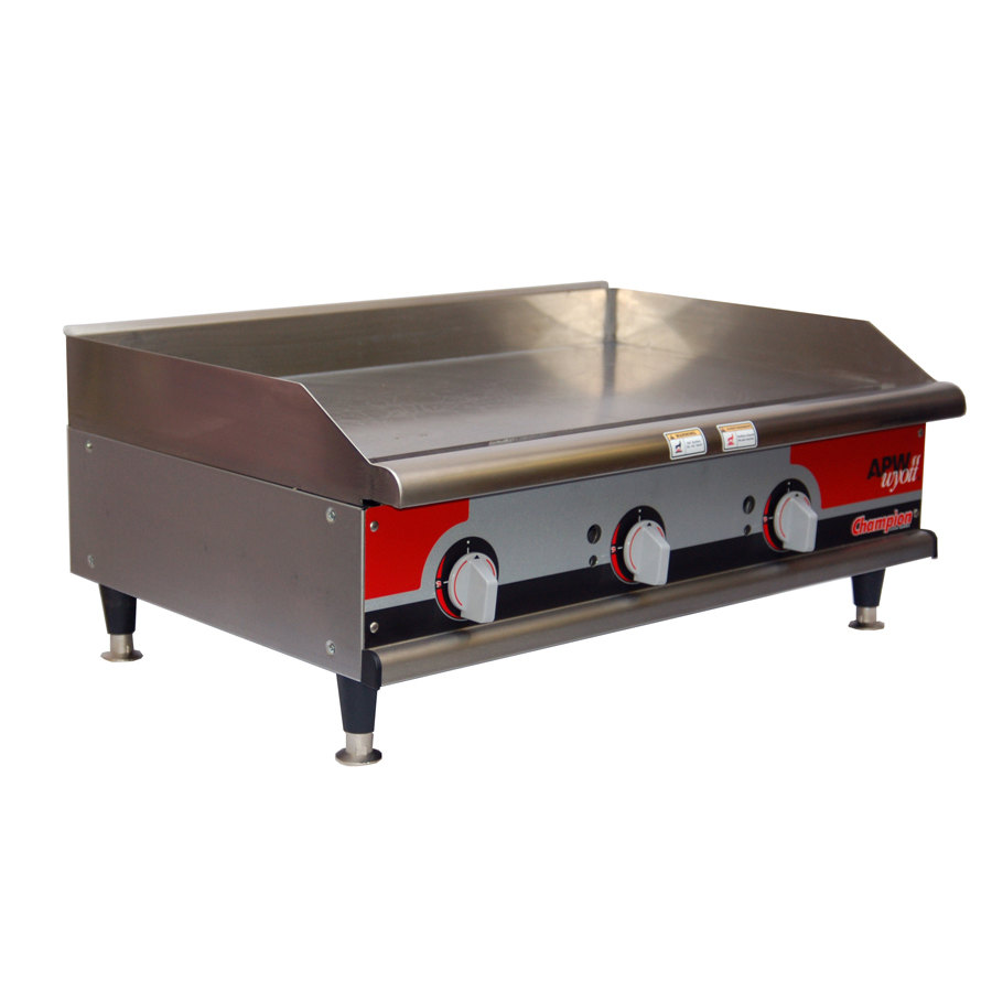 "APW Wyott EG-36i 36"" Electric Countertop Griddle 208V"