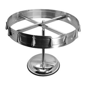Order Wheel / Ticket Holder - 12 Clip Ceiling Mount with Pedestal Base
