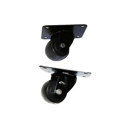 "True 942288 3"" Swivel Plate Casters - 4/Set"