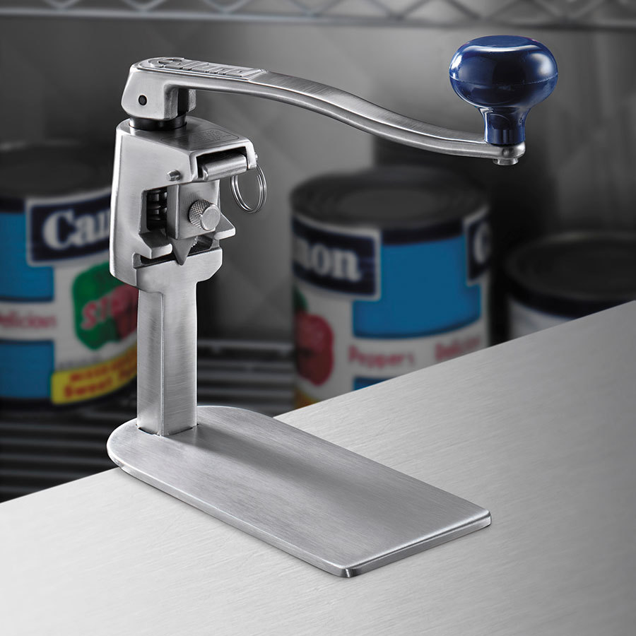 "Edlund S-11 TP #1 Manual Can Opener with 16"" Adjustable Bar, Tamper Proof Opener, and Stainless Steel Base at Sears.com"