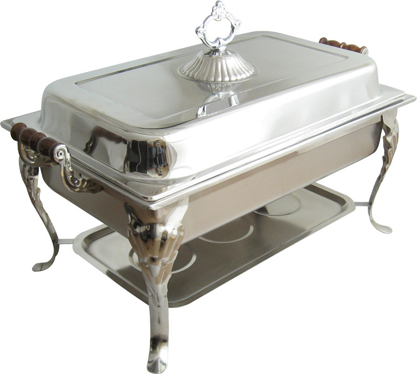 8 Qt. Classic Rectangular Full Chafer