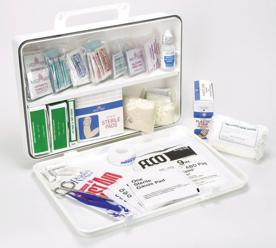 Medique Medi-First 50 Person First Aid Kit - 188 pcs.