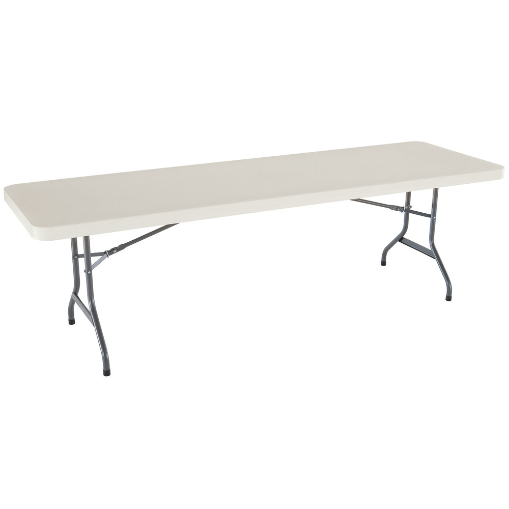 Plastic Folding Table : Lifetime 42984 30