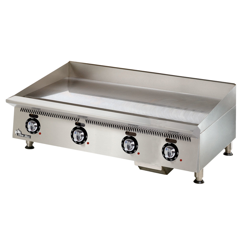 Countertop Griddle : Star 848TA Ultra Max 48