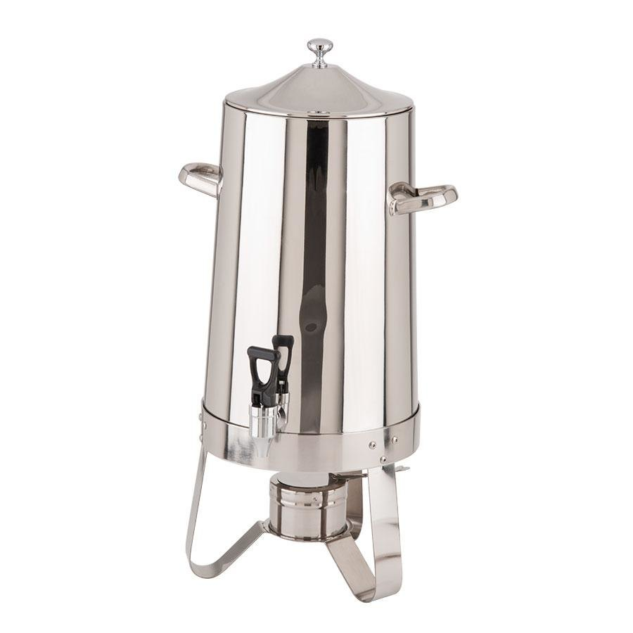 Choice Stainless Steel Coffee Chafer Urn - 4 Gallon