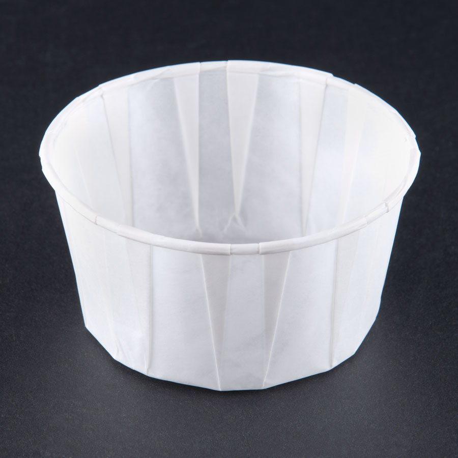 Solo SCC550 5.5 oz. Paper Souffle / Portion Cup 250/Box