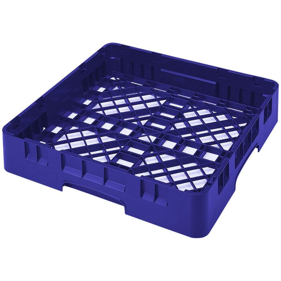 Cambro BR258168 Blue Camrack Full Size Open Base Rack