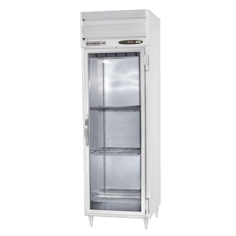 Beverage air prd1 1bg 1 section glass door pass thru for 1 glass door refrigerator