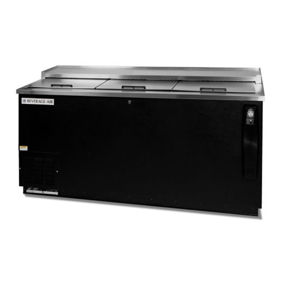 "Beverage Air (Bev Air) DW79-B Black Bottle Cooler Deep Well - 80"" at Sears.com"