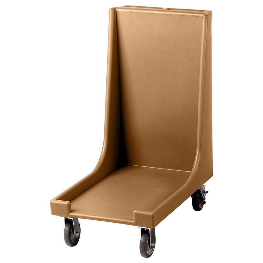 "Cambro CD1826H157 Coffee Beige Camdolly for 18"" x 26"" Trays - 90 Tray Capacity"