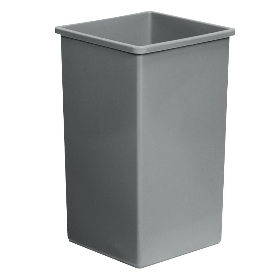 Continental 25GY Gray Swingline - 25 Gallon Trash Can