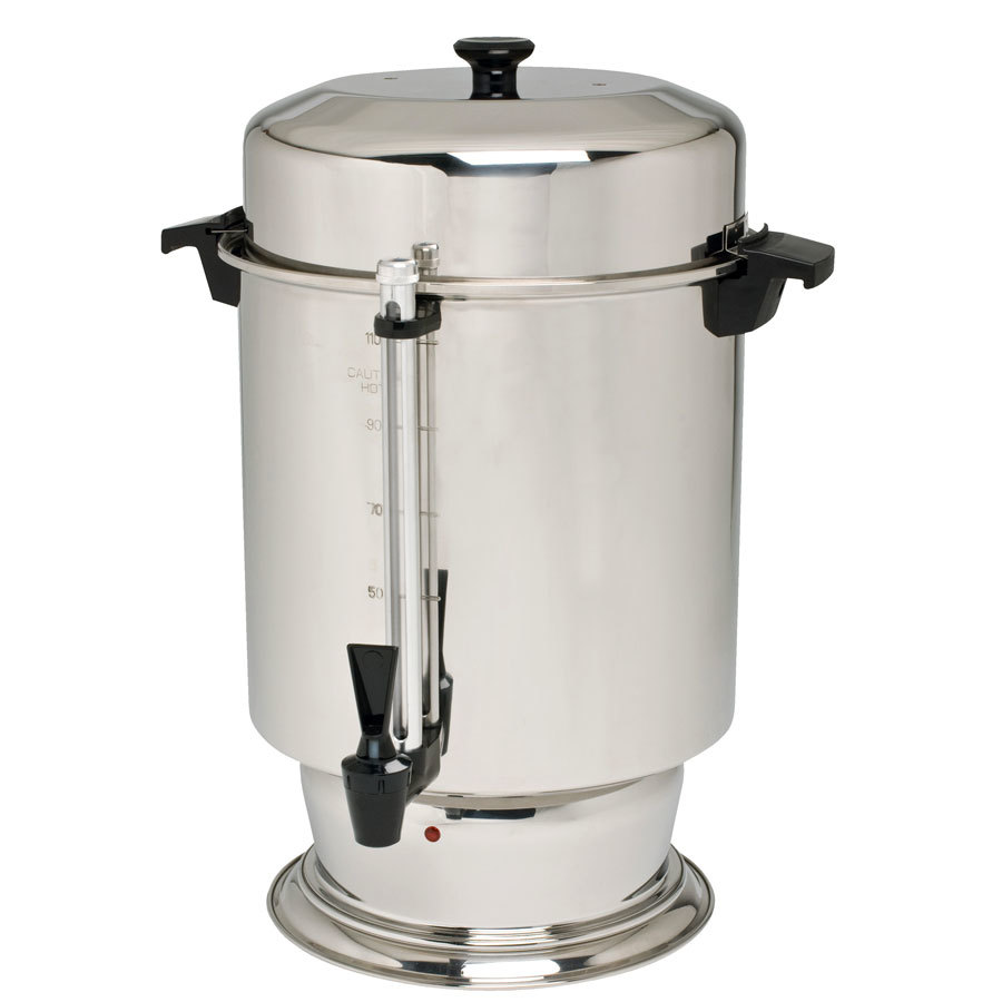 Regalware K1301 110 Cup (4.3 Gallon) Stainless Steel Coffee Urn