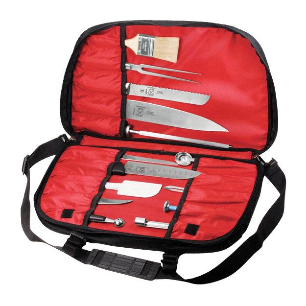 mercer m30424m the knife messenger cutlery bag. Black Bedroom Furniture Sets. Home Design Ideas