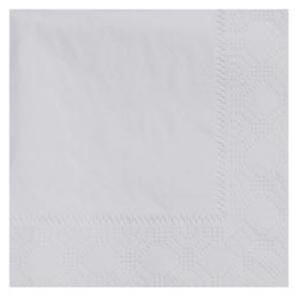 Hoffmaster 180318 Dove Gray Beverage / Cocktail Napkin - 1000 / Case