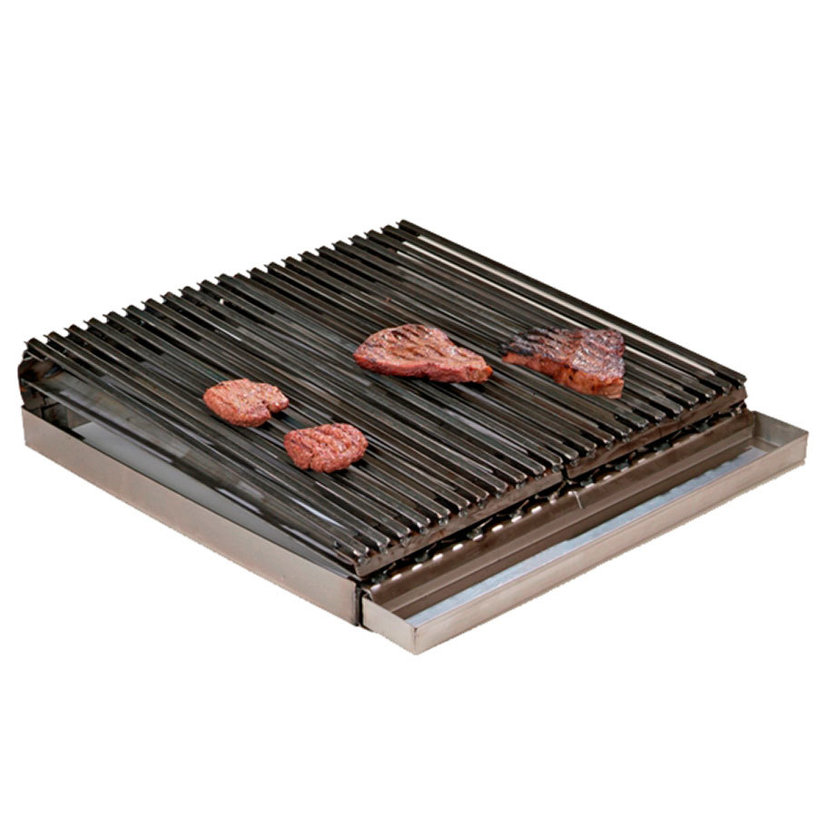 "All Points 76-1148 24"" x 24"" x 5"" Add on Charbroiler"